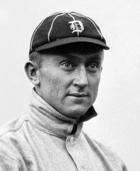 1905 : Ty Cobb Plays His First Game As Detroit Tiger
