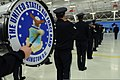 U.S. Airmen with the U.S. Air Force Band participate in a rehearsal for the presidential inauguration parade at Joint Base Andrews, Md 130110-F-HB697-514.jpg