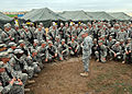 U.S. Army Lt. Gen. Ken Keen, commanding general of Joint Task Force-Haiti, addresses members of the 82nd Airborne Division out of Fort Bragg, N.C., March 6, 2010, in Port-au-Prince, Haiti 100306-N-HX866-001.jpg