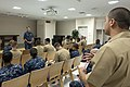U.S. Navy Adm. Mark Ferguson, background standing, Vice Chief of Naval Operations, speaks with Sailors, with the Coalition of Sailors Against Destructive Decisions, during a visit to Commander Fleet Activities 130828-N-GT589-019.jpg