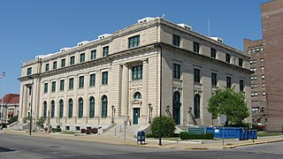United States Post Office and Court House (Danville, Illinois) United States historic place