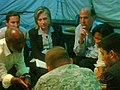 U.S. Secretary of State Clinton, USAID Administrator Shah and Deputy Commander SOUTHCOM General Keen (4284973309).jpg
