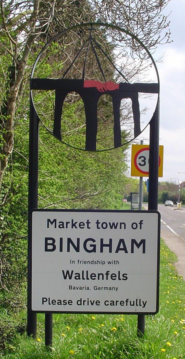 Bingham, Nottinghamshire - Howling Pixel