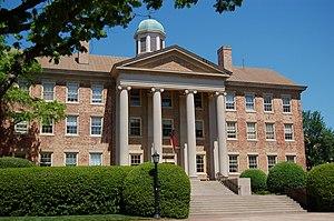 University of North Carolina at Chapel Hill cover