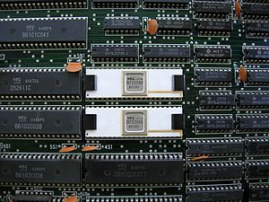PC-9800 series - NEC µPD7220 from PC-9801F