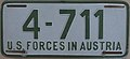 US-Forces-in-Austria USFA 1953 license plate 4-711.jpg