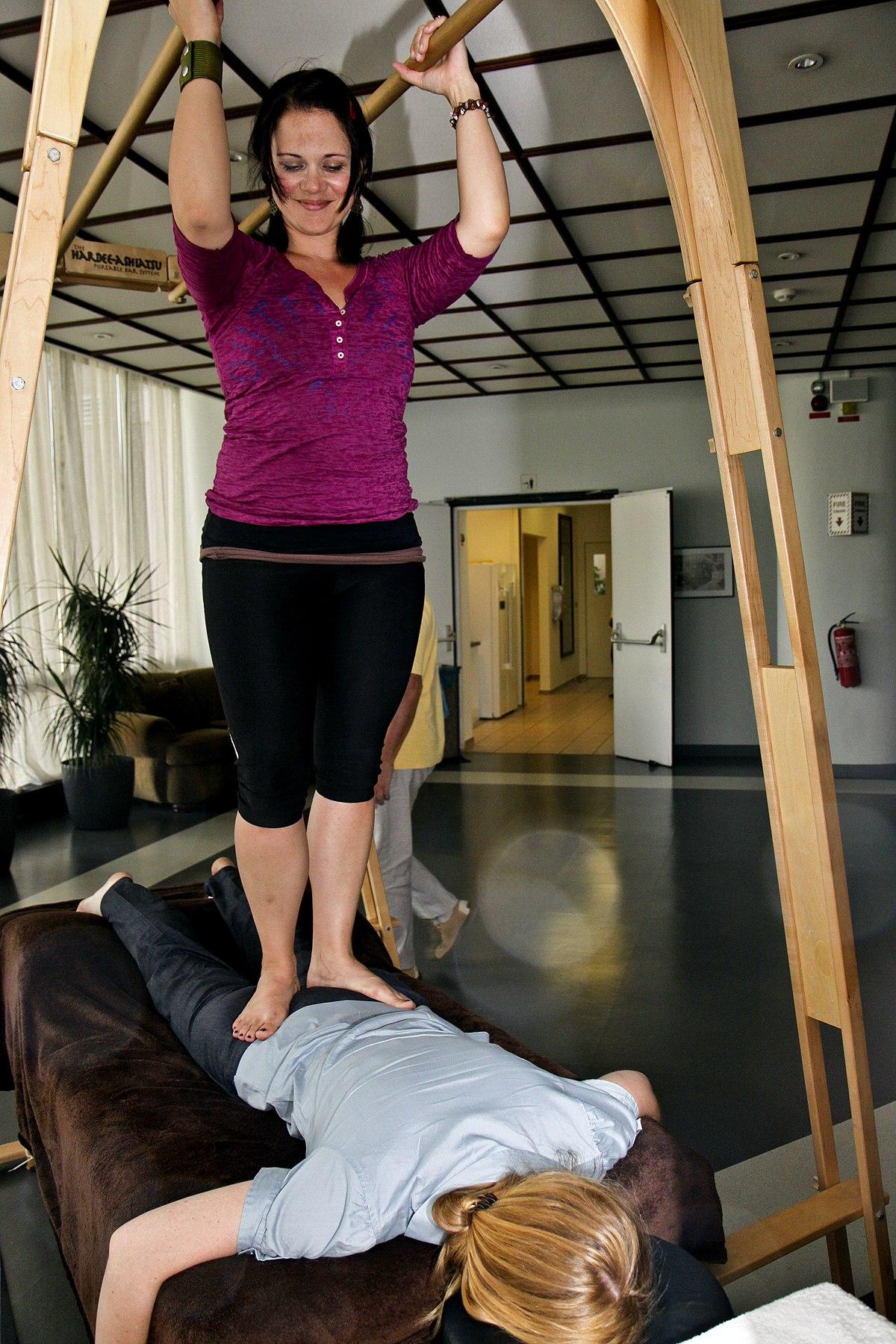 femdom trampling tantra massage body to body