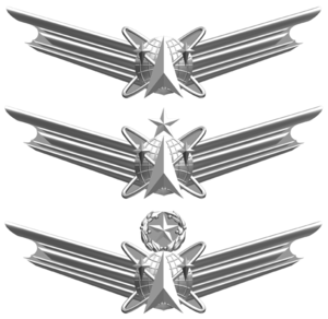 Space and Missile Badge - Image: USAF Space Professional Badges
