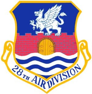 28th Air Division - Image: USAF 28th Air Division Crest