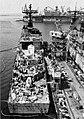 USS Arthur W. Radford (DD-968) fitting out at Ingalls Shipbuilding on 30 August 1976.jpg