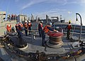 USS Frank Cable conducts a replenishment-at-sea. (13624286324).jpg