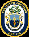 USS Ralph Johnson (DDG-114) Crest.png