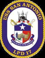 USS San Antonio LPD-17 Crest.png