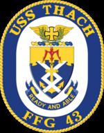 USS Thach FFG-43 Crest