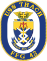 USS Thach FFG-43 Crest.png