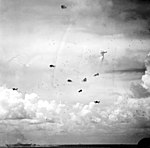 USS Wasp (CV-18) under attack during Battle of the Philippine Sea 1944.jpg
