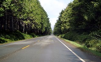 Jefferson County, Washington - US Route 101 in Jefferson County