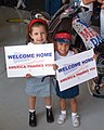 US Navy 030512-M-5555L-090 Family and friends welcome home Marines assigned to Marine Fighter Attack Squadron One Twenty One (VMFA-121).jpg