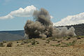 US Navy 060810-N-0411D-024 Sixteen pounds of exploding C4 creates a huge cloud of dirt during training exercise Natural Fire.jpg