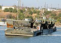 US Navy 080722-N-1424C-753 The improved navy lighterage system (INLS) transports Army rolling stock from ship-to-shore during Joint Logistics Over-The-Shore (JLOTS) 2008.jpg