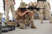 US soldier m4 Grip Pod.
