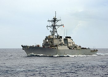 US Navy 100624-N-7282P-020 The guided-missile destroyer USS Stetham (DDG 63) is underway in the western Pacific Ocean.jpg