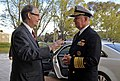 US Navy 100930-N-8273J-074 Chief of Naval Operations (CNO) Adm. Gary Roughead meets with Jason Hyland, Australia's Deputy Chief of Mission.jpg