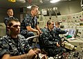 US Navy 110315-N-FG395-006 Senior Chief Missile Technician Wyatt Harris, center, Blue Team assistant navigator aboard the ballistic-missile submari.jpg