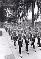 UW Band marching in uniform down Bascom Hill (6186268991).jpg