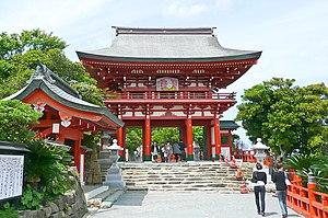 Rōmon - Image: Udo Jingu Roumon
