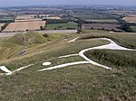 Uffington White Horse and Dragon Hill - geograph.org.uk - 238471.jpg