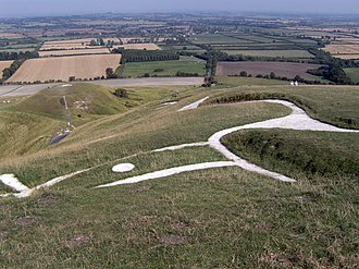 North Wessex Downs - Uffington White Horse and Dragon Hill