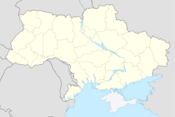 Tsiurupynsk is located in Ukraine