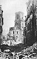 Ulica Świętojańska w Warszawie Zamek Królewski wrzesień 1944.jpg