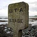 Ulster Transport Authority Bus stop in Millisle.jpg