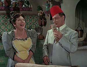 Anna Campori - Anna Campori and Totò in Neapolitan Turk (1953)