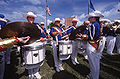 University of Tulsa (TU) snareline 2004.jpg