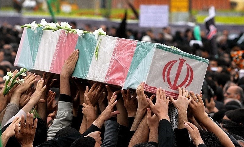 Unknown soldier funeral in Mashhad.jpg