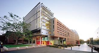 UNSW Faculty of Built Environment - The Red Centre, lower campus