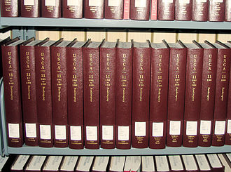 United States Code - A few volumes of an annotated version of the United States Code