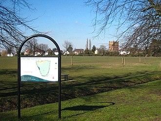 Uxbridge - Uxbridge Common was reduced in size by the 1819 Inclosure of Hillingdon Parish.