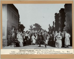 Värmlänningarne, Vasateatern 1902. Föreställningsbild - SMV - H14 056.tif
