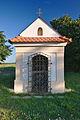 Výklenková kaplička u hlavní silnice, Drahanovice, okres Olomouc.jpg