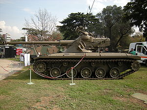 "SK-105 Kürassier - A ""Patagón"" tank at the Argentine Army Exhibition, May 2008"