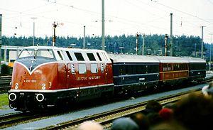 DB Class V 200 - Image: V 200 002 (14.09.1985)