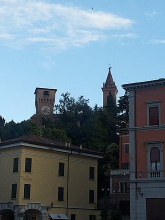 Valsamoggia - A view of Bazzano.