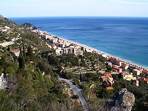Finale Ligure - A view on the frazione of Varigotti.