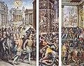 Vasari - Massacre de la Saint-Barthélémy. Assassinat de Coligny, entre 1572 et 1573.jpg
