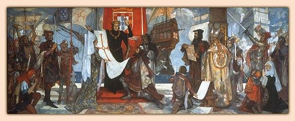 f5acdb105d Vasco da Gama leaving the port of Lisbon