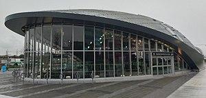 Vaughan Metropolitan Centre station - Image: Vaughan station exterior